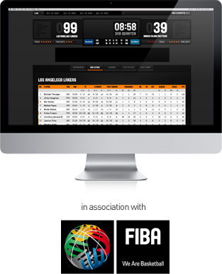 in association with FIBA